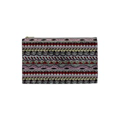 Aztec Pattern Art Cosmetic Bag (small)