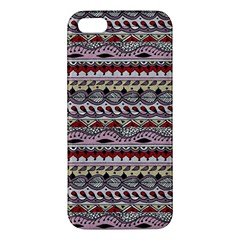 Aztec Pattern Art Apple Iphone 5 Premium Hardshell Case