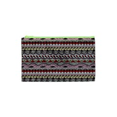 Aztec Pattern Art Cosmetic Bag (xs) by BangZart