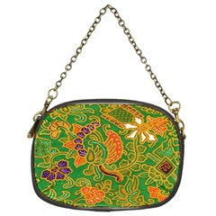 Art Batik The Traditional Fabric Chain Purses (two Sides)
