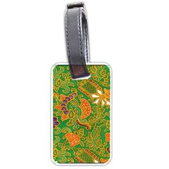 Art Batik The Traditional Fabric Luggage Tags (one Side)  by BangZart