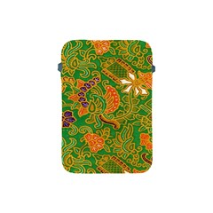 Art Batik The Traditional Fabric Apple Ipad Mini Protective Soft Cases by BangZart