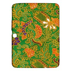 Art Batik The Traditional Fabric Samsung Galaxy Tab 3 (10 1 ) P5200 Hardshell Case  by BangZart