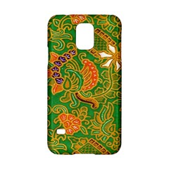 Art Batik The Traditional Fabric Samsung Galaxy S5 Hardshell Case  by BangZart