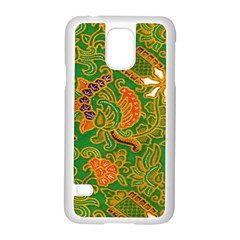 Art Batik The Traditional Fabric Samsung Galaxy S5 Case (white) by BangZart