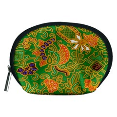 Art Batik The Traditional Fabric Accessory Pouches (medium)  by BangZart