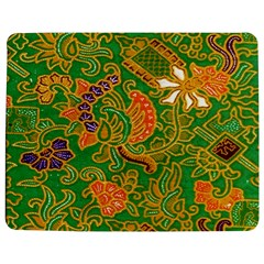 Art Batik The Traditional Fabric Jigsaw Puzzle Photo Stand (rectangular) by BangZart
