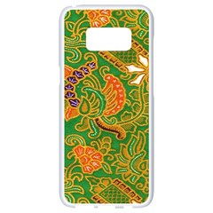 Art Batik The Traditional Fabric Samsung Galaxy S8 White Seamless Case by BangZart