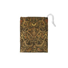 Art Indonesian Batik Drawstring Pouches (xs)  by BangZart