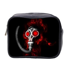 Gas Mask Mini Toiletries Bag 2 Side