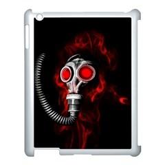 Gas Mask Apple Ipad 3/4 Case (white) by Valentinaart
