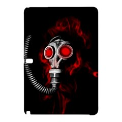 Gas Mask Samsung Galaxy Tab Pro 12 2 Hardshell Case by Valentinaart