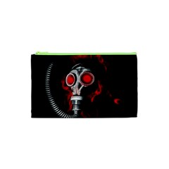 Gas Mask Cosmetic Bag (xs) by Valentinaart
