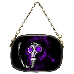 Gas Mask Chain Purses (one Side)  by Valentinaart