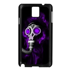 Gas Mask Samsung Galaxy Note 3 N9005 Case (black) by Valentinaart