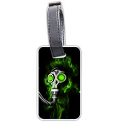 Gas Mask Luggage Tags (two Sides)