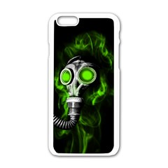 Gas Mask Apple Iphone 6/6s White Enamel Case