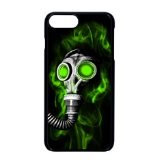 Gas Mask Apple Iphone 7 Plus Seamless Case (black) by Valentinaart