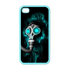 Gas Mask Apple Iphone 4 Case (color)