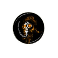 Gas Mask Hat Clip Ball Marker (4 Pack)