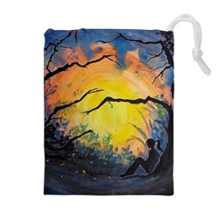 Soul Offering Drawstring Pouches (extra Large) by Dimkad