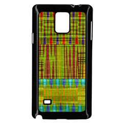 Messy Shapes Texture                     Samsung Galaxy Note 4 Case (white) by LalyLauraFLM
