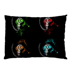 Gas Mask Pillow Case (two Sides)
