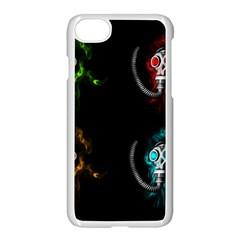 Gas Mask Apple Iphone 7 Seamless Case (white) by Valentinaart