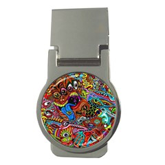 Art Color Dark Detail Monsters Psychedelic Money Clips (round)  by BangZart