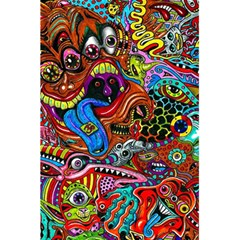 Art Color Dark Detail Monsters Psychedelic 5 5  X 8 5  Notebooks by BangZart
