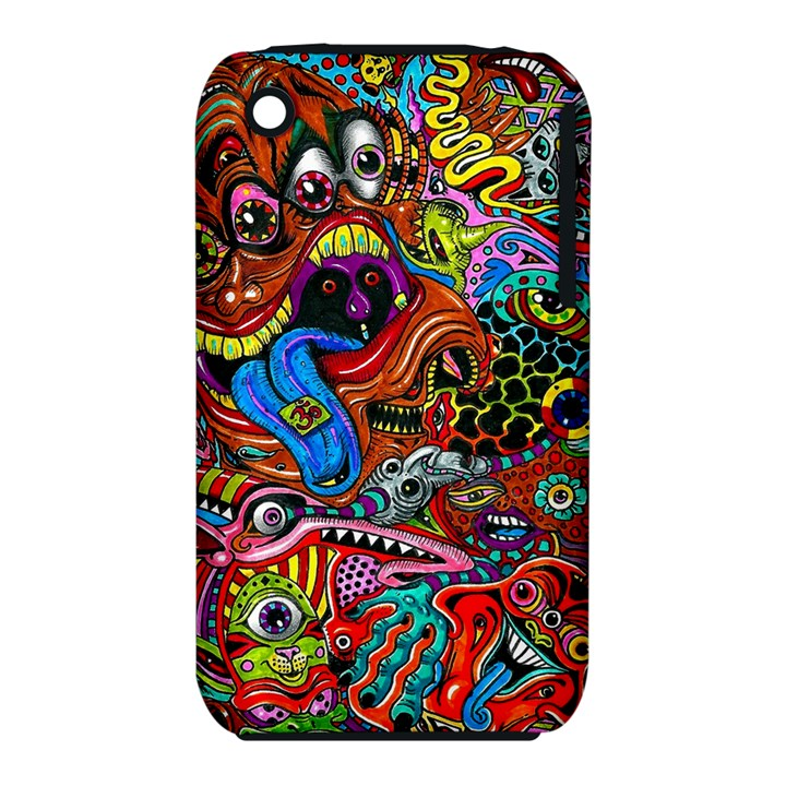 Art Color Dark Detail Monsters Psychedelic iPhone 3S/3GS