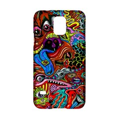 Art Color Dark Detail Monsters Psychedelic Samsung Galaxy S5 Hardshell Case