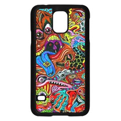 Art Color Dark Detail Monsters Psychedelic Samsung Galaxy S5 Case (black) by BangZart