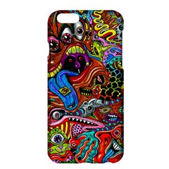 Art Color Dark Detail Monsters Psychedelic Apple Iphone 6 Plus/6s Plus Hardshell Case by BangZart