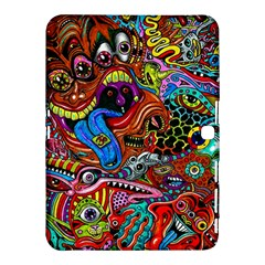 Art Color Dark Detail Monsters Psychedelic Samsung Galaxy Tab 4 (10 1 ) Hardshell Case  by BangZart