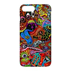 Art Color Dark Detail Monsters Psychedelic Apple Iphone 7 Plus Hardshell Case
