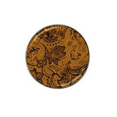 Art Traditional Batik Flower Pattern Hat Clip Ball Marker (10 Pack) by BangZart