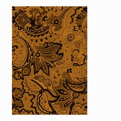 Art Traditional Batik Flower Pattern Small Garden Flag (two Sides)
