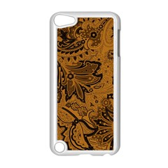 Art Traditional Batik Flower Pattern Apple Ipod Touch 5 Case (white)