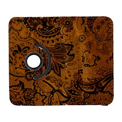 Art Traditional Batik Flower Pattern Galaxy S3 (flip/folio) by BangZart