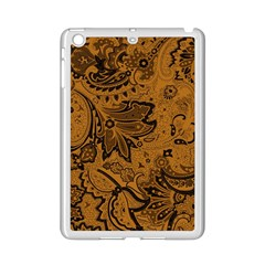 Art Traditional Batik Flower Pattern Ipad Mini 2 Enamel Coated Cases by BangZart