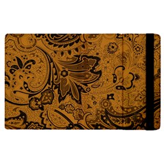 Art Traditional Batik Flower Pattern Apple Ipad Pro 12 9   Flip Case