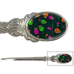 Abstract Bug Insect Pattern Letter Openers