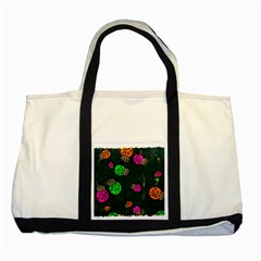 Abstract Bug Insect Pattern Two Tone Tote Bag by BangZart