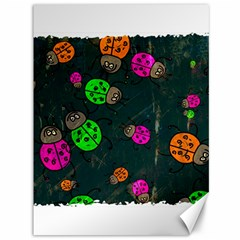 Abstract Bug Insect Pattern Canvas 36  X 48   by BangZart