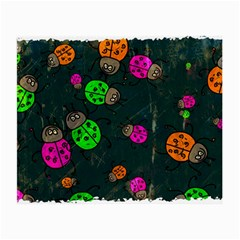 Abstract Bug Insect Pattern Small Glasses Cloth (2 Side)