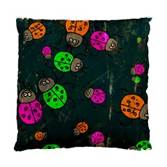 Abstract Bug Insect Pattern Standard Cushion Case (two Sides)