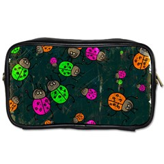 Abstract Bug Insect Pattern Toiletries Bags