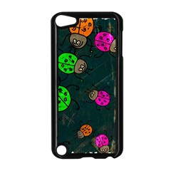 Abstract Bug Insect Pattern Apple Ipod Touch 5 Case (black)