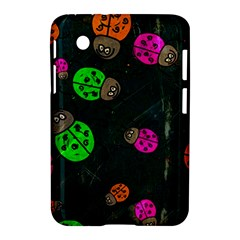 Abstract Bug Insect Pattern Samsung Galaxy Tab 2 (7 ) P3100 Hardshell Case